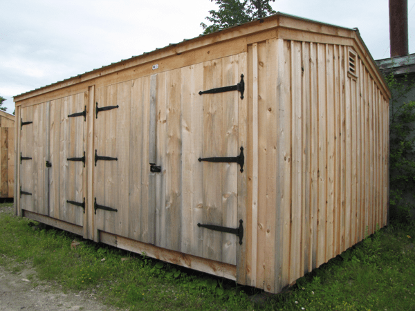 14x20 Barn Garage - Exterior
