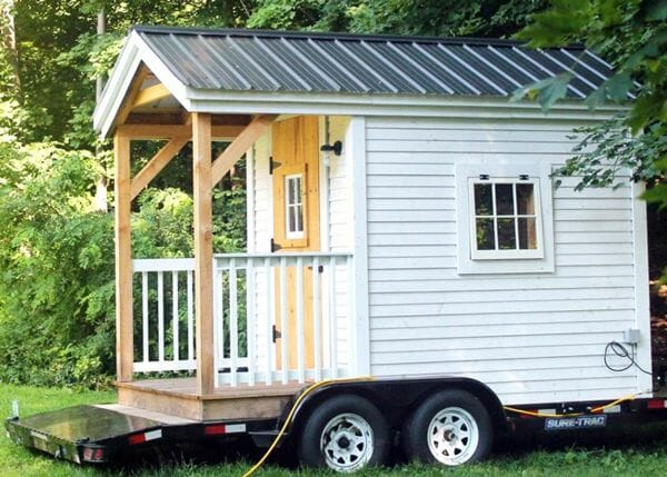 Sometimes building a structure on wheels will eliminate the need for a permit if portable structures are allowed.