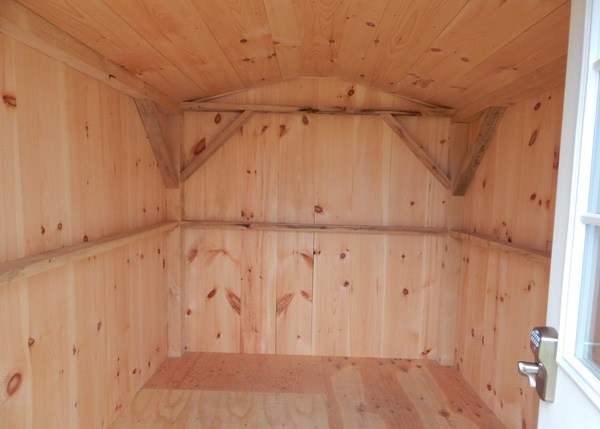 8x12 Vermonter Four Season Interior