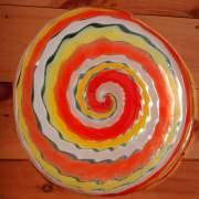 Artisan-Blown Glass Roundels - each one is different