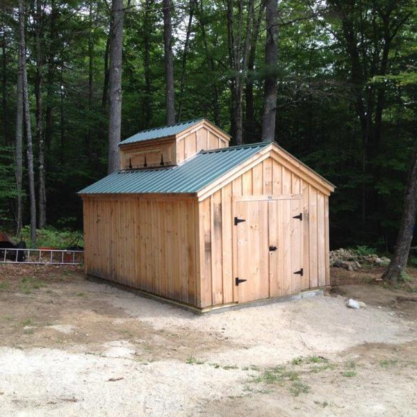 12x20 Sugar Shack with cupola placement modification