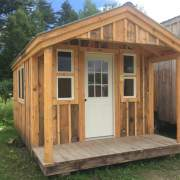 10x16 Pond House - Insulated Exterior with Upgrades