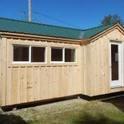Fully-Assembled Heritage Cottage Design with insulated doors and windows