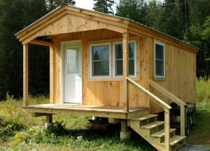 12x20 Home Office - Custom Four Season Exterior