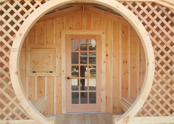 Love Nest with Insulated Door