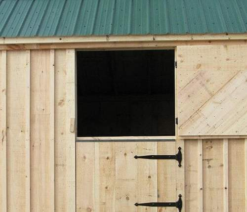 Dutch Door for the stall barn or can be ordered separately