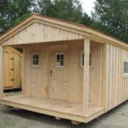 12x20 Home Office - Custom Built Cabin