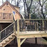 10x16 Smithaven built as a treehouse vacation rental and guest house