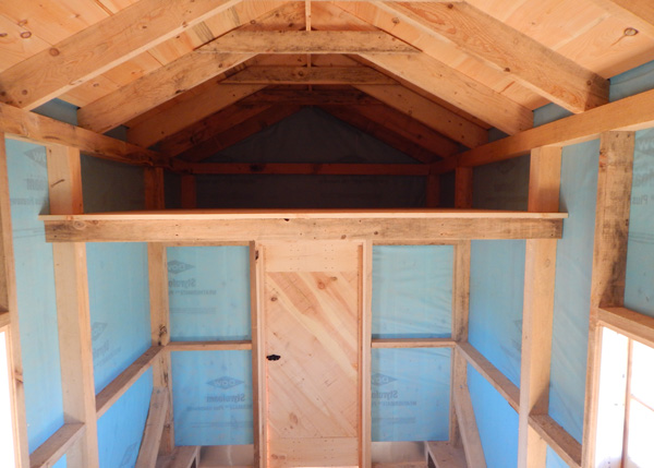 8x16 Nook - Three Season Interior Customized