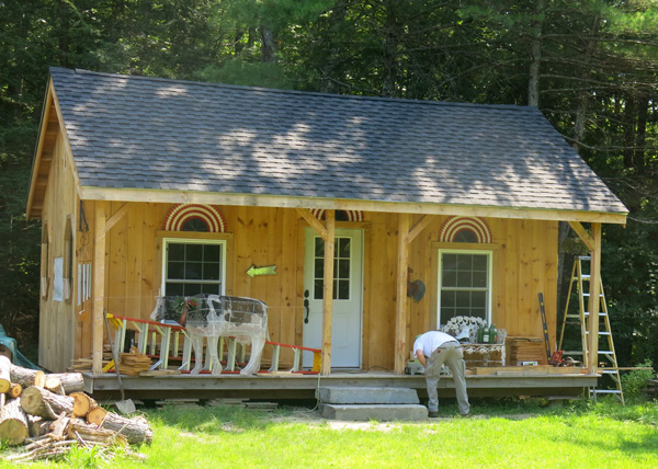 Vermont Cottage Option A Four Season with Asphalt Shingle Roof