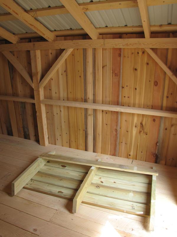3x5 Treated Ramp for Double barn doors.