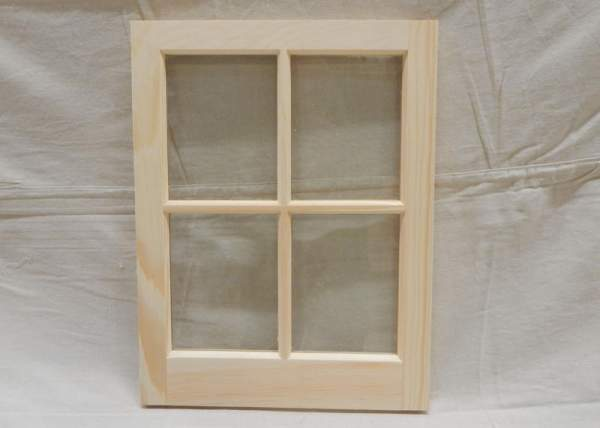 This window can be ordered hinged or fixed