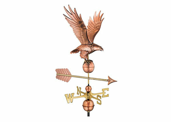 This weathervane would look great on top of a shed, barn or sugar shack.
