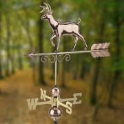 This copper and brass weathervane would look great on a camp building, cabin or cottage.