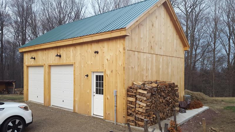 8x8 Overhead Garage Door installed on 20x30 Garage.