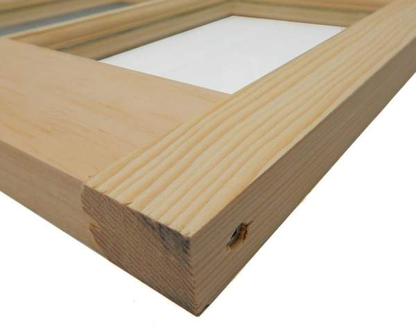 The 2x2 Barn Sash Window is constructed of high-quality pine