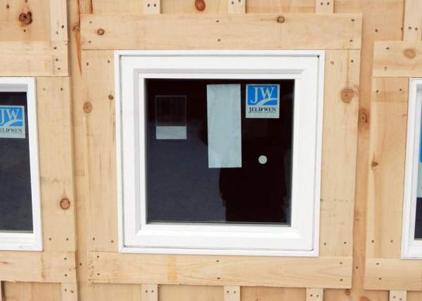The 2x2 Insulated Awning Window uses Low-E glass which is a highly energy efficient option.