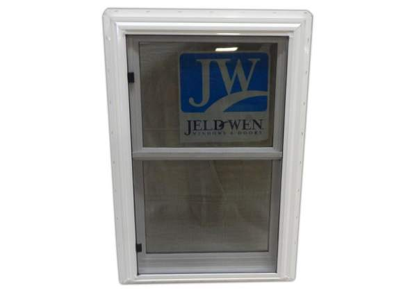The 2x3 Insulated Double Hung Window includes a screen.