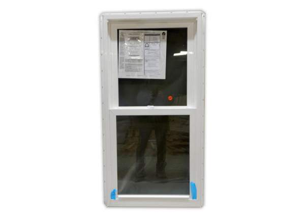 The 2x4 Insulated Double Hung Window has a small footprint with more natural light coming in than a 2x4.