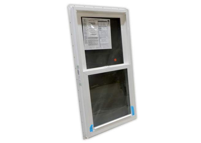 This 2x4 insulated double hung window is perfect for tiny houses, cabins and cottages.