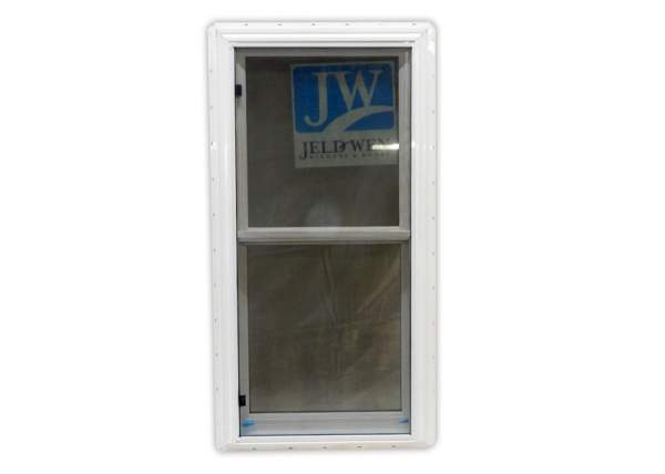 The 2x4 Insulated Double Hung Window includes a screen.