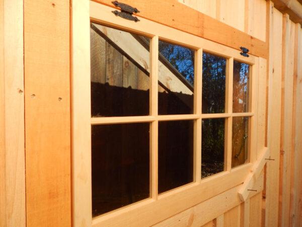 3x2 Eight-Lite Barn Sash Shed Window