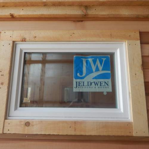 The 3x2 Insulated Casement Window is most often installed in our tiny houses, cabins and cottages.
