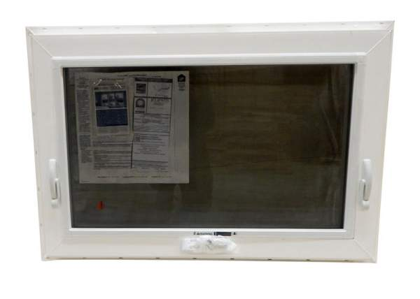 3x2 insulated casement window includes a screen, crank and lock.