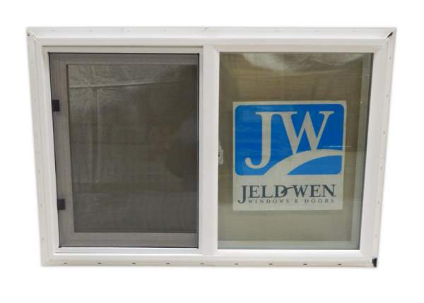 3x2 Insulated Slider Windows includes screens. The double pane low-E glass is energy efficient.