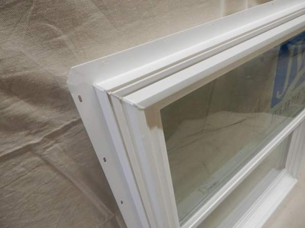 Our 3x3 Insulated Double Hung Windows use a nail fin for installation.