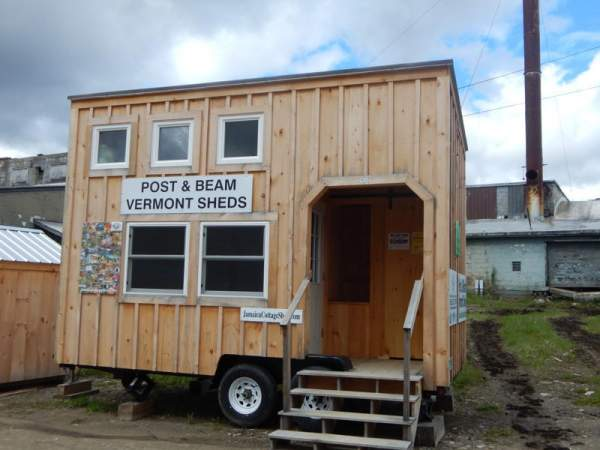 The 3x3 Double Hung Insulated Windows are popular for use in tiny houses on wheels