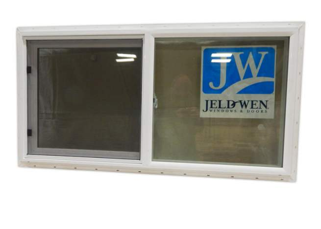The 4x2 Insulated Slider Window has a white vinyl interior and exterior that is easy to maintain.