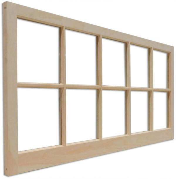 Barn sash windows are often installed iin sheds, garages, playhouses, and seasonal cabins and cottages.