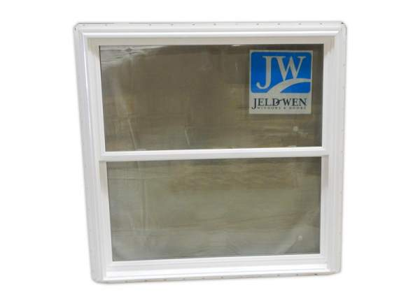 The 4x4 Insulated Awning Window includes a built-in screen.