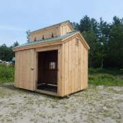 The functional cupola is most often used in Sugar Shacks. The hinged vents let steam escape when opened.