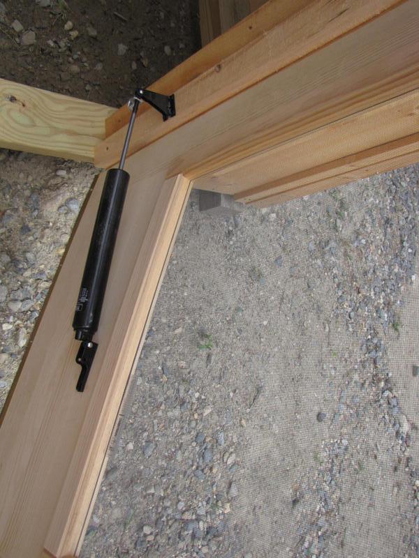 Interior hardware for deluxe door hardware kit.