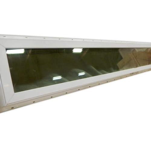Double pane Low-E glass is energy efficient and helps cut down on heating and cooling costs.