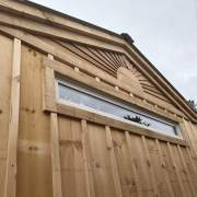 The 8x1 Insulated Transom Window is often installed higher up on a wall. It provides natural light while being secure.