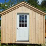 The nine-light insulated steel door is most often installed on our garages, cabins, cottages, tiny houses, workshops or any buildings designed for four season year round use.