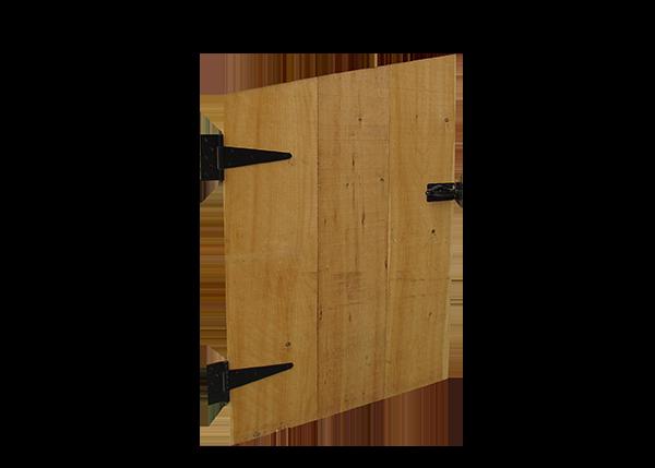 Single Angled Pine Door