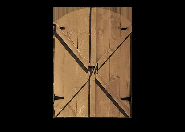 Double Arched Door