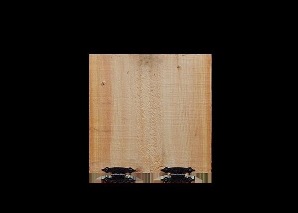 Chicken Coop Door with Hinges