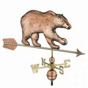 A Bear Weathervane would make a great addition to a hunting cabin or camp.