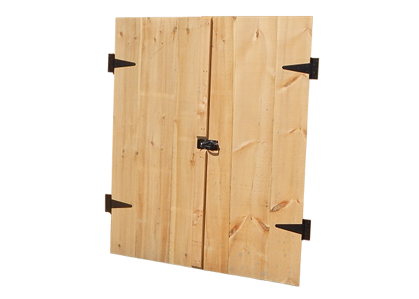 Double Door with Hardware