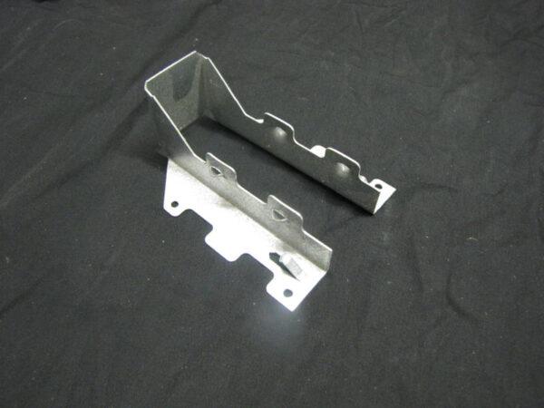 Steel 2x6 Joist Hanger included in the hurricane package.