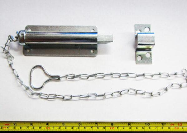 """6"""" Chain Bolt Door Hardware"""