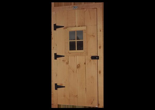 Door with trim package