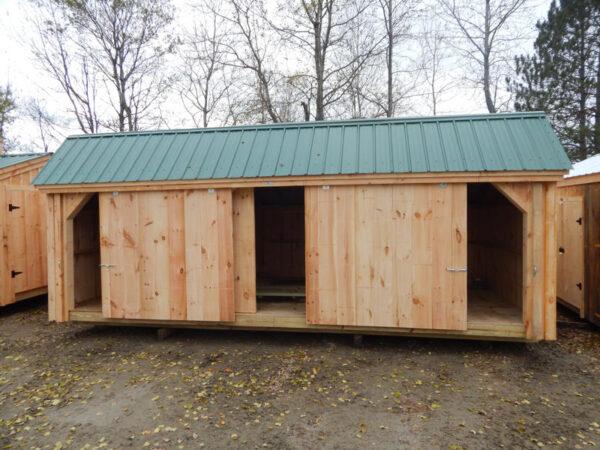 "5' JCS Built 2"" thick Pine Sliding Barn Door.  Exterior view."