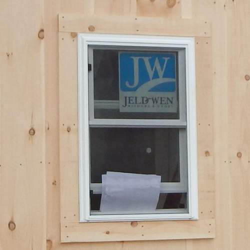 The 2x3 Double Hung Insulated Window is a popular add-on for our tiny houses.