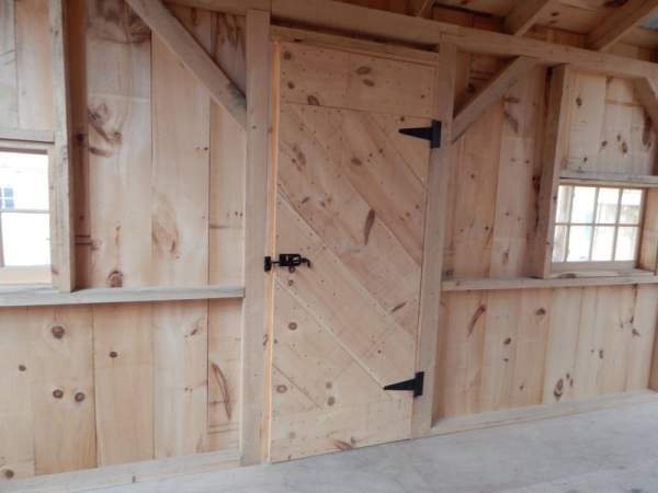 Our single pine doors are constructed from lumber that was sustainably sourced in the Northeast USA.